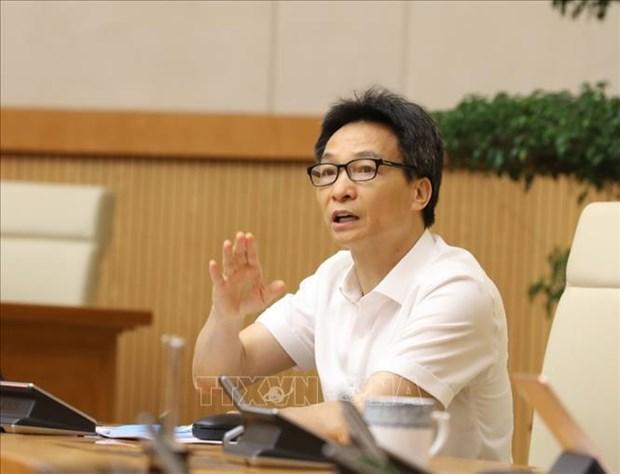 Pho Thu tuong Vu Duc Dam: Khong de dich COVID-19 bung phat trong dien rong hinh anh 1