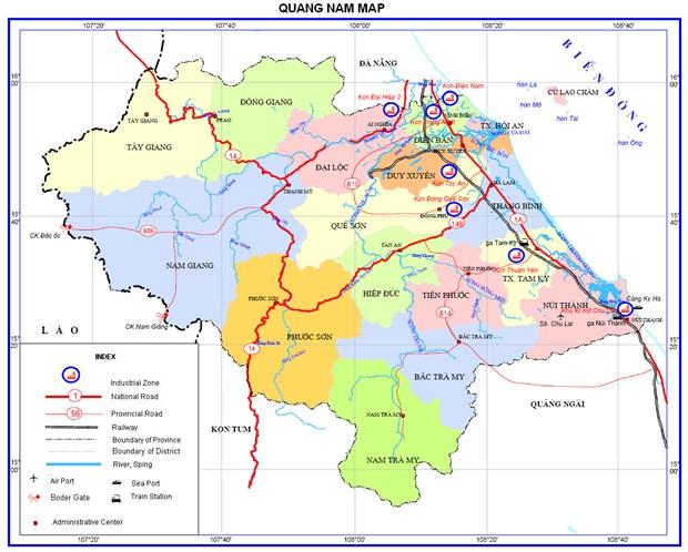 Phe duyet nhiem vu lap Quy hoach tinh Quang Nam thoi ky 2021-2030, tam nhin den nam 2050 hinh anh 1