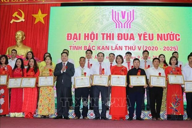 Dai hoi Thi dua yeu nuoc tinh Bac Kan lan thu V hinh anh 3