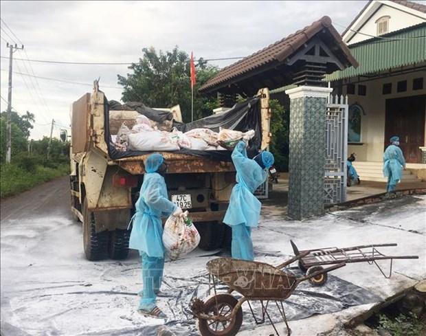 Quang Tri cong bo dich benh cum gia cam H5N6 tai xa Vinh Lam hinh anh 1
