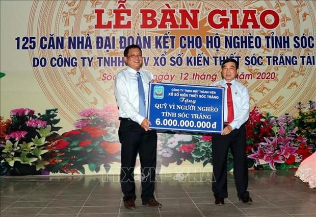 Soc Trang ban giao 125 can nha dai doan ket cho ho kho khan ve nha o hinh anh 3