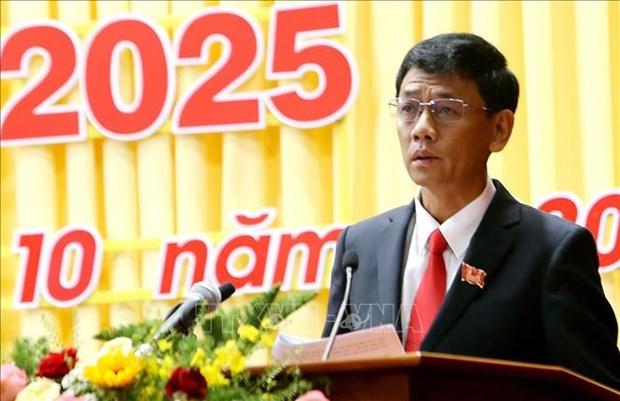 Ong Lam Van Man duoc bau giu chuc Bi thu Tinh uy Soc Trang hinh anh 1