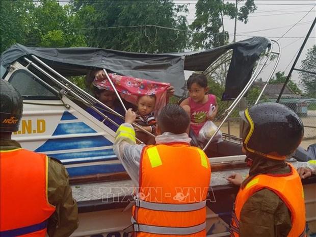 Mua lu tai Quang Tri lam ngap lut 82 xa, phuong va thi tran, 2 nguoi thuong vong hinh anh 2