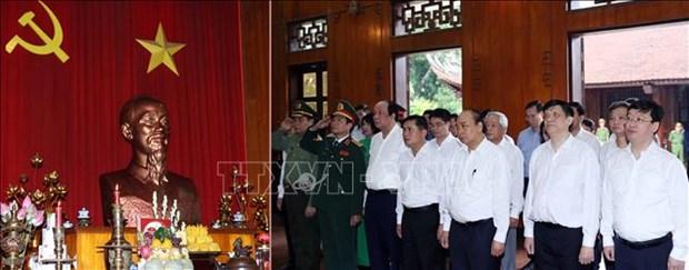 Thu tuong Chinh phu Nguyen Xuan Phuc du va chi dao Dai hoi dai bieu Dang bo tinh Nghe An nhiem ky 2020 - 2025 hinh anh 3