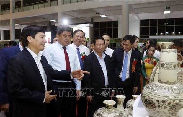 Khai mac Hoi cho nong nghiep va san pham OCOP khu vuc phia Bac hinh anh 2