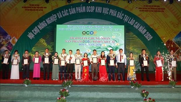 Khai mac Hoi cho nong nghiep va san pham OCOP khu vuc phia Bac hinh anh 1