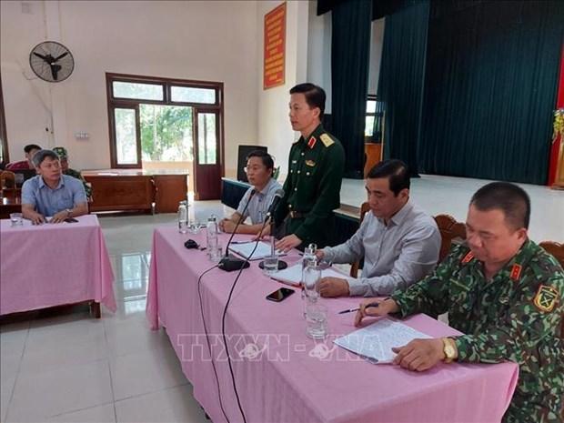Vu sat lo tai Nam Tra My - Quang Nam: Thanh lap So Chi huy tien phuong chi huy cong tac tim kiem cuu nan hinh anh 1