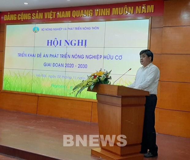 Thu truong Tran Thanh Nam: Khong phat trien nong nghiep huu co o at hinh anh 1