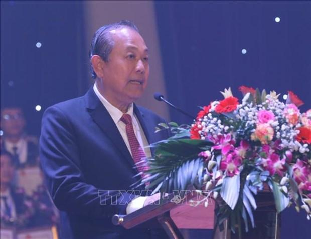 Pho Thu tuong Truong Hoa Binh: Giao vien hay la nguoi tien phong doi moi can ban, toan dien nen giao duc hinh anh 1