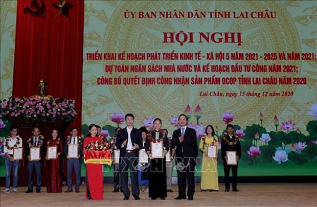 Lai Chau cong bo san pham OCOP nam 2020 hinh anh 2