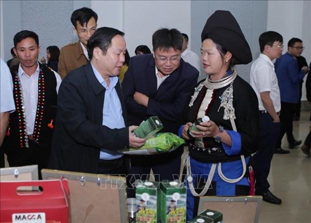 Lai Chau cong bo san pham OCOP nam 2020 hinh anh 1