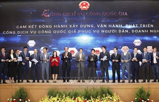 Pho Thu tuong Vu Duc Dam: Thuc day nhanh viec xay dung cac co so du lieu quan trong cua dat nuoc hinh anh 2