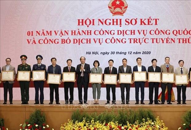 Pho Thu tuong Vu Duc Dam: Thuc day nhanh viec xay dung cac co so du lieu quan trong cua dat nuoc hinh anh 3