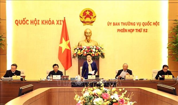 Khai mac Phien hop thu 52 cua Uy ban Thuong vu Quoc hoi hinh anh 1
