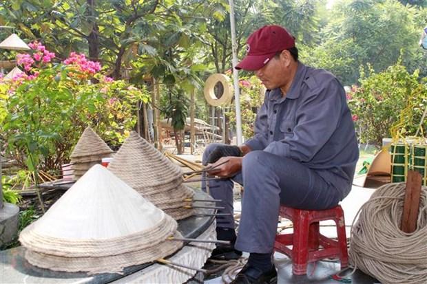 Duong hoa Nguyen Hue 2021 - khong gian trai nghiem dang nho dip Xuan Tan Suu hinh anh 1
