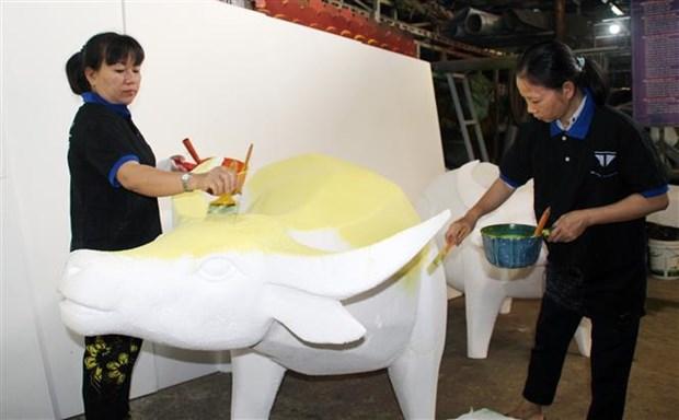 Duong hoa Nguyen Hue 2021 - khong gian trai nghiem dang nho dip Xuan Tan Suu hinh anh 4