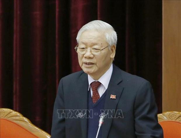 Tom tat tieu su dong chi Nguyen Phu Trong, Tong Bi thu Ban Chap hanh Trung uong Dang Cong san Viet Nam khoa XIII hinh anh 1