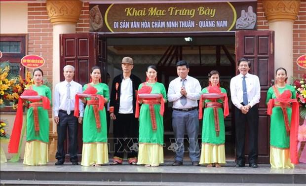 Trung bay chuyen de Di san van hoa Cham Ninh Thuan – Quang Nam hinh anh 1
