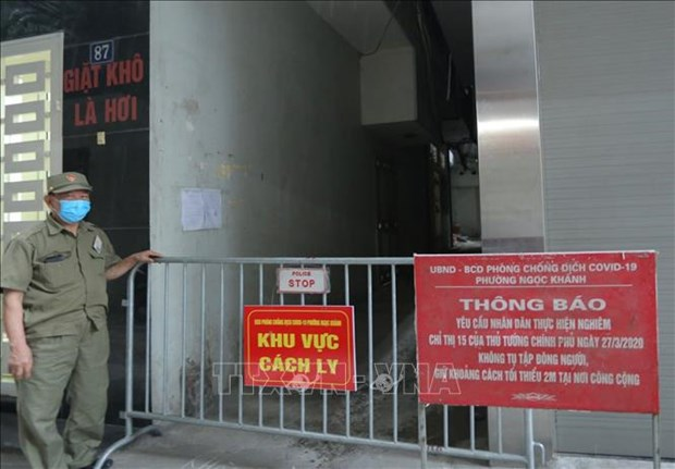 Dich COVID-19: Ha Noi thong tin ve ca duong tinh, khan truong truy vet cac truong hop F1, F2 hinh anh 1