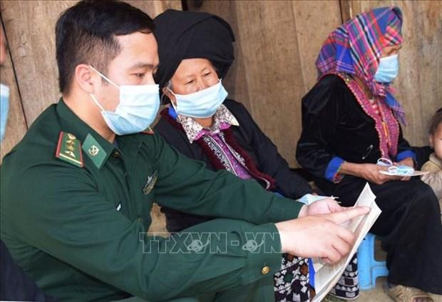 Luc luong Bien phong Lai Chau da dang cac hinh thuc tuyen truyen bau cu hinh anh 4