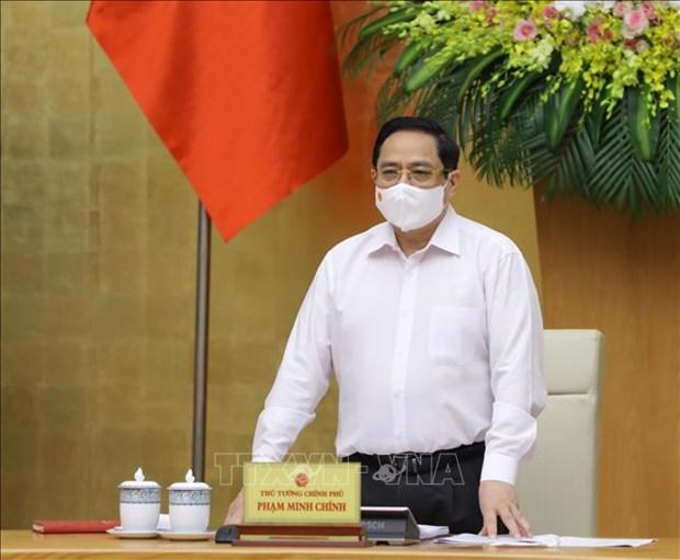 Nghi quyet phien hop Chinh phu thuong ky thang 4/2021 hinh anh 1