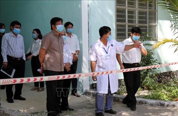 Dich COVID-19: Ninh Thuan xay dung Benh vien da chien quy mo 200 giuong hinh anh 2