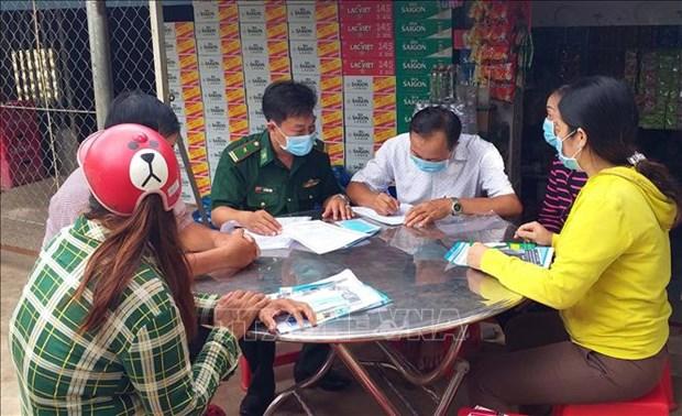 Bo doi Bien phong Soc Trang day manh tuyen truyen phong, chong xuat, nhap canh trai phep qua duong bien hinh anh 1