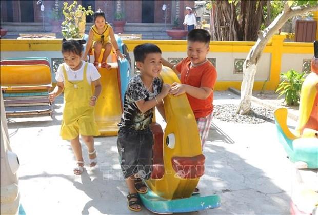 Thang hanh dong vi tre em 2021: Binh Thuan tang cuong phong, chong duoi nuoc cho tre em trong dip he hinh anh 1
