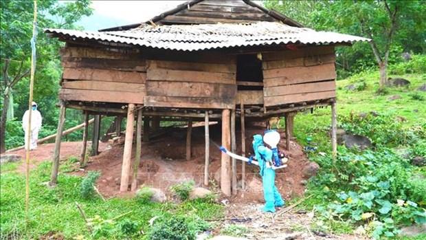 Dich COVID-19: Quang Binh ho tro dong bao dan toc vung bien gioi trong khu vuc gian cach xa hoi hinh anh 5