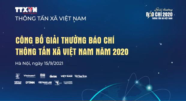 Giai thuong Bao chi TTXVN nam 2020: Khang dinh tinh chuyen nghiep, su gan ket va tinh than trach nhiem hinh anh 2