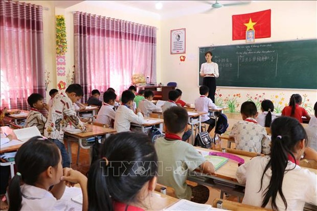 Huong dan day hoc cap Trung hoc trong dieu kien dich COVID-19: Giu lai yeu cau toi thieu voi moi mon hoc, lop hoc hinh anh 1