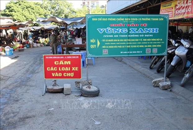 """Ninh Thuan day manh mo rong """"vung xanh"""" tren ban do COVID-19 hinh anh 1"""