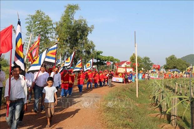Binh Thuan de nghi dua Le hoi Dinh Thay Thim vao Danh muc di san van hoa phi vat the quoc gia hinh anh 1