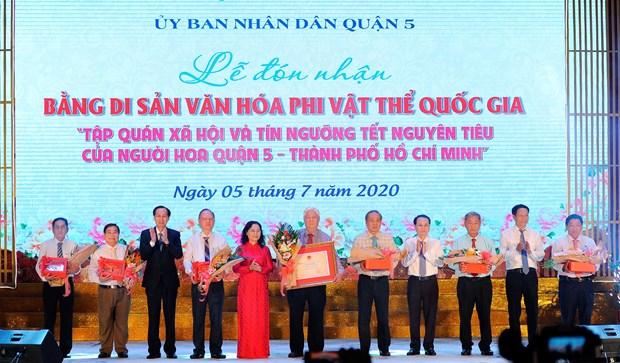 Tet Nguyen tieu cua nguoi Hoa tro thanh di san van hoa phi vat the quoc gia hinh anh 12