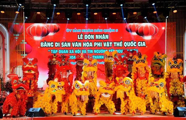 Tet Nguyen tieu cua nguoi Hoa tro thanh di san van hoa phi vat the quoc gia hinh anh 11