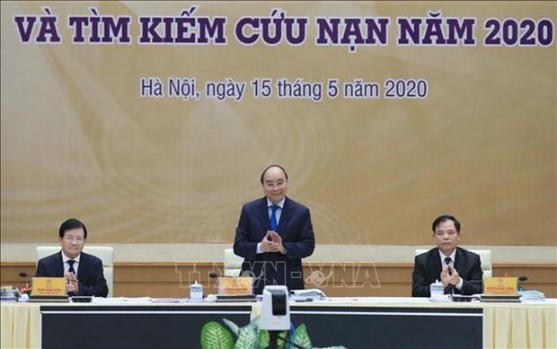政府总理阮春福:需制定针应对每个自然灾害的方案 hinh anh 1
