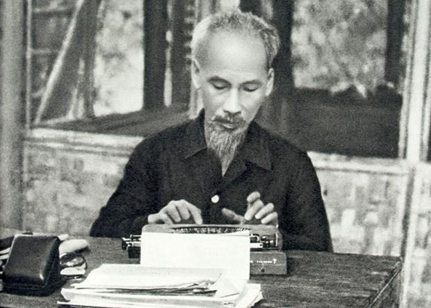 胡志明主席: 革命道德的一面明镜 hinh anh 1