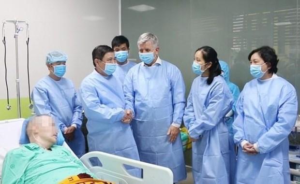 越南无新增新冠肺炎确诊病例 第91例患者自主呼吸 hinh anh 1