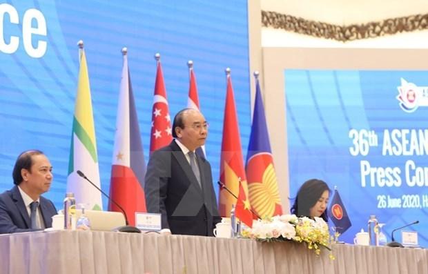 2020东盟轮值主席国年:第36届东盟峰会发表《主席声明》 hinh anh 1
