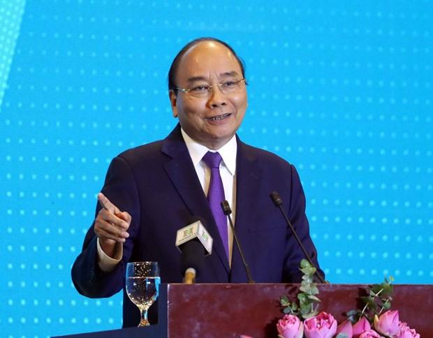 政府总理阮春福出席2020年河内投资合作与发展会议 hinh anh 1