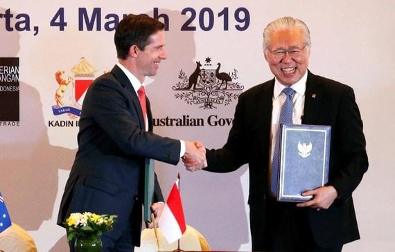 《印尼与澳大利亚全面经济伙伴关系协定》正式生效 hinh anh 1