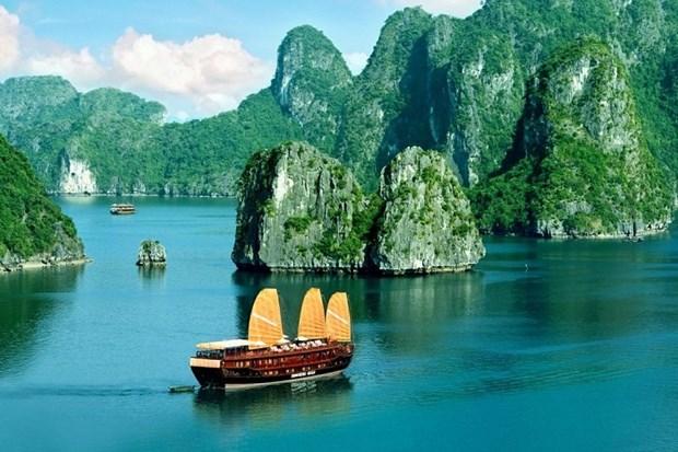 越南下龙湾跻身全球最美50个自然奇观名单 hinh anh 1