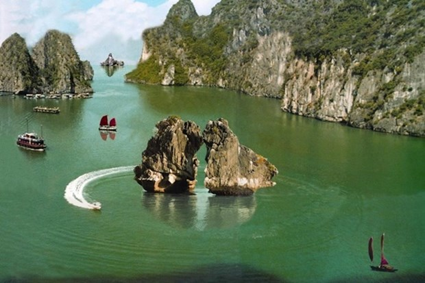 越南下龙湾跻身全球最美50个自然奇观名单 hinh anh 2