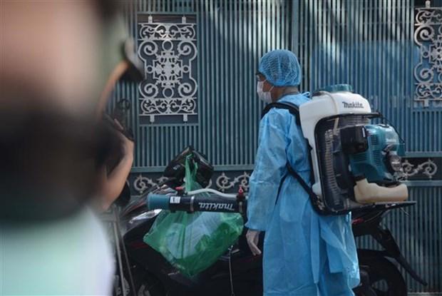 新冠肺炎疫情:岘港市新发现一例确诊病例 hinh anh 1