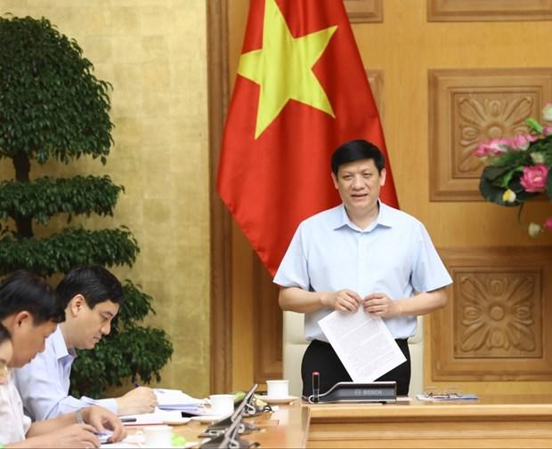 武德澹副总理:严厉惩处不按防疫规定进行健康申报和接受隔离的行为 hinh anh 2