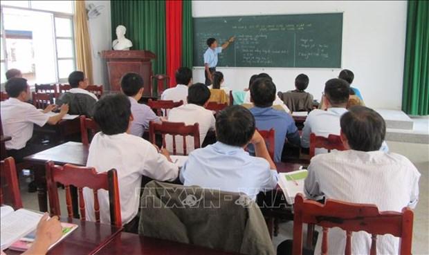 宁顺省提高各所学校的少数民族语言教学质量 hinh anh 1