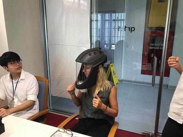越南防疫帽子获得国际创新创业大赛科技设计奖 hinh anh 1