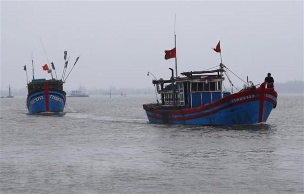 越南驻印尼大使馆为被拘留的渔民开展领事工作 hinh anh 1