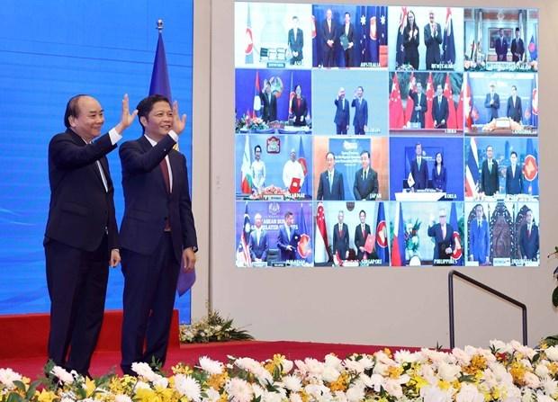 回顾2020年东盟轮值主席国:RCEP—为东盟与各伙伴国开辟了美好的经贸合作关系新篇章 hinh anh 1