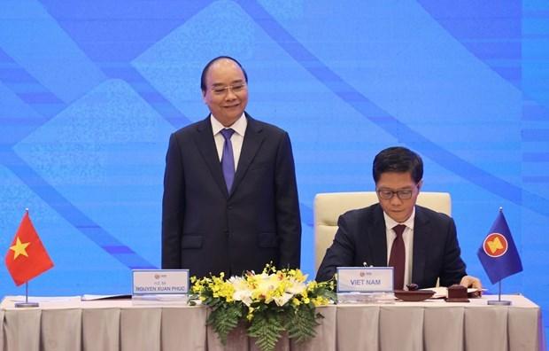 回顾2020年东盟轮值主席国:RCEP—为东盟与各伙伴国开辟了美好的经贸合作关系新篇章 hinh anh 2